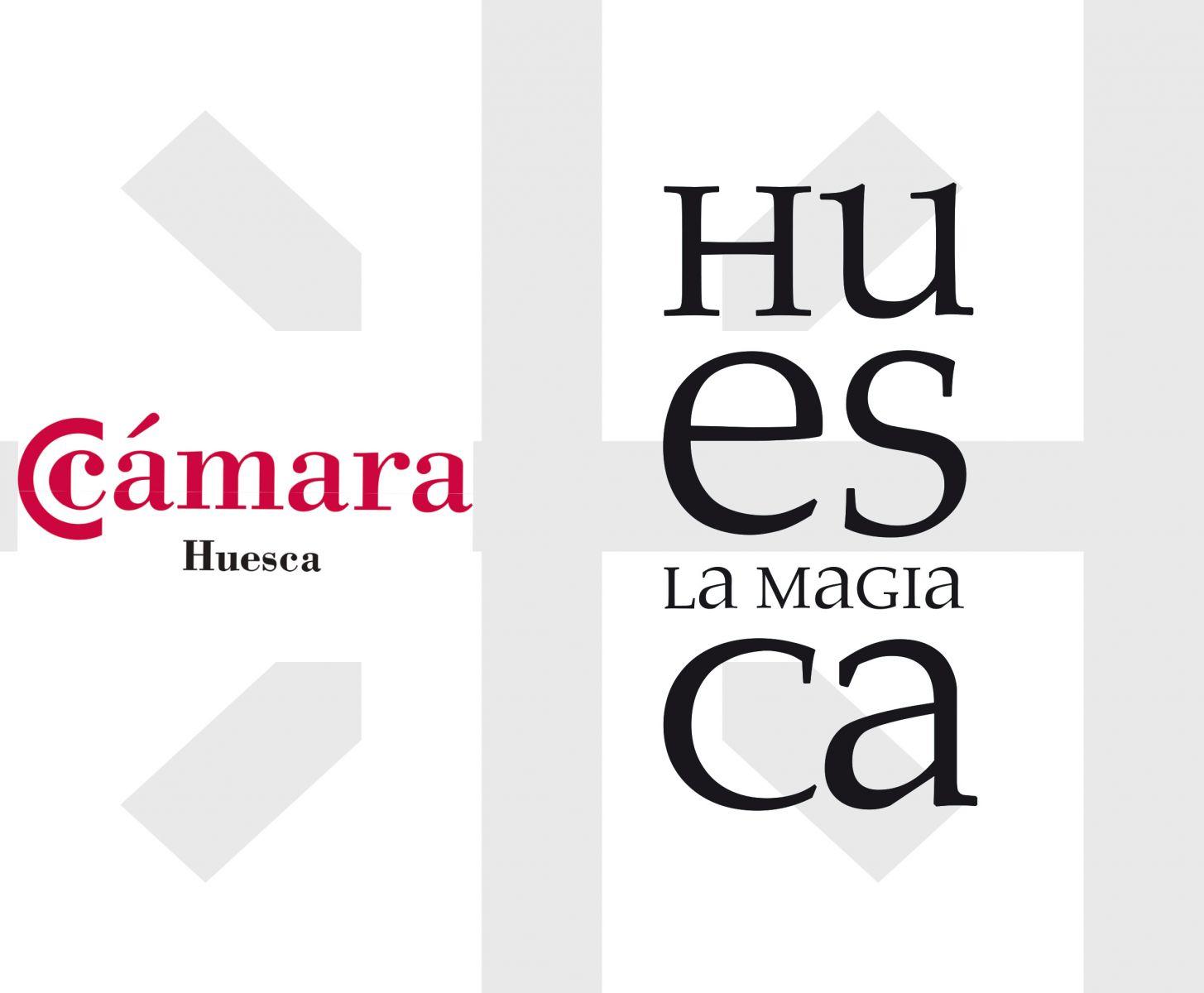 Logo unión Cámara y Huesca la Magia