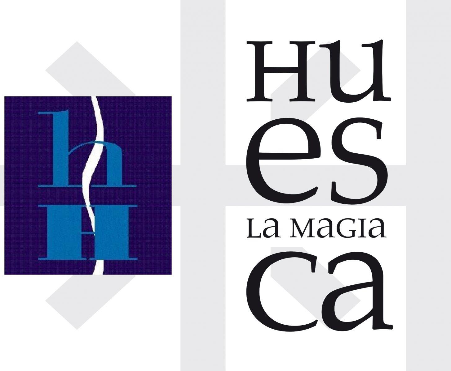 Logo unión Asoc. Hostelería y Huesca la Magia