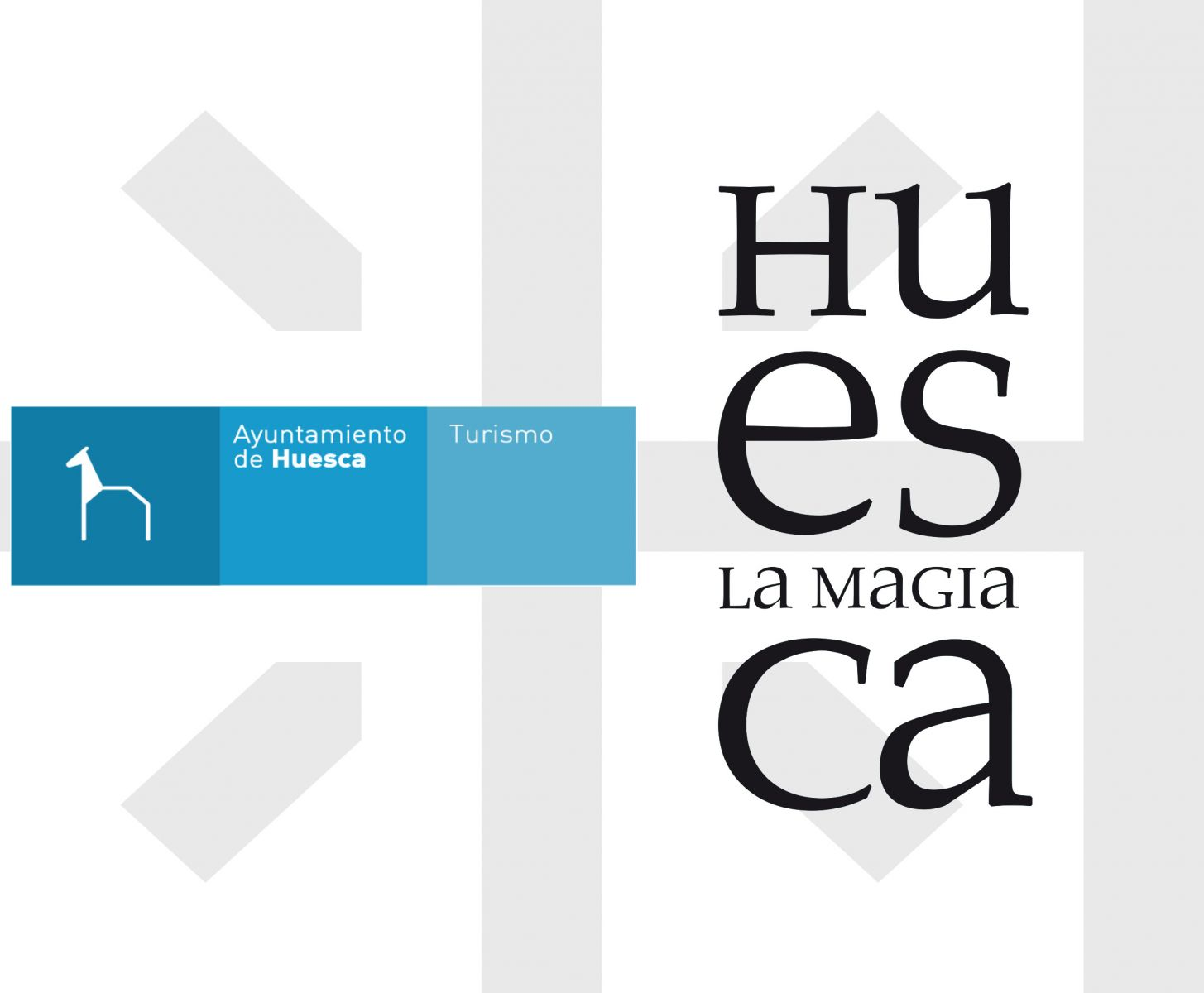 Logo unión Ayto. y Huesca la Magia