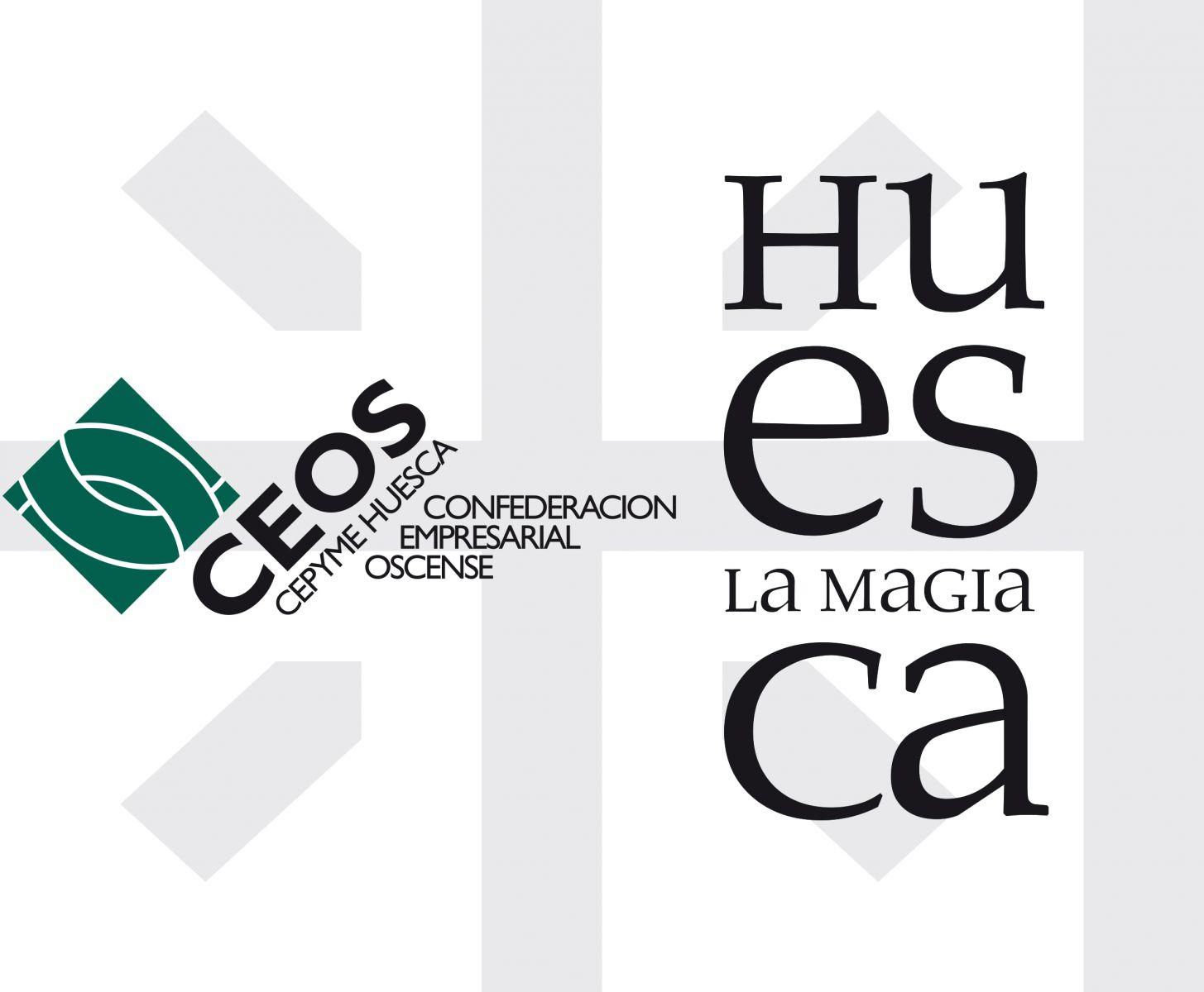 Logo unión Ceos y Huesca la Magia
