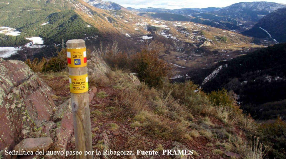 Señalítica del nuevo sendero por la Ribagorza. CLIPPING QUINCENAL (26 de abril - 12 de mayo)