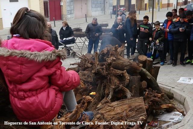 Hoguera en Torrente