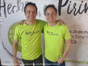Los hermanos Torres en la inauguración de Hecho en los Pirineos. POST MENSUAL MARZO